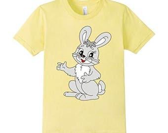 GCDigital : My Pretty Cute Easter Bunny Rabbit Digital For T-Shirt