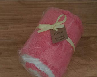 Cake Roll Washcloth