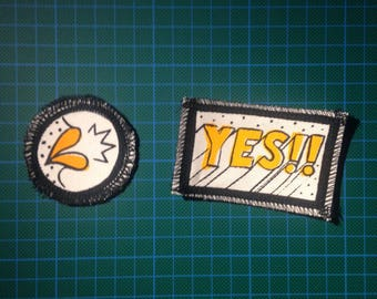 Say YES!! Patches