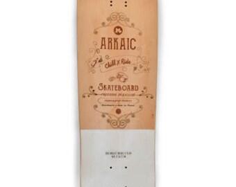 Longboard BIG MOUNT W Concave 9″X 32.8″ARKAIC Skateboard 2017