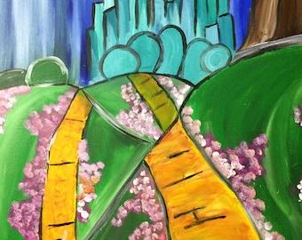 Emerald City painting