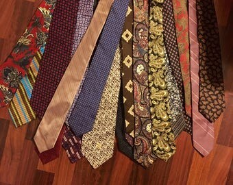 Vintage neckties