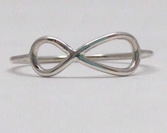 Sterling Silve Infinity Ring