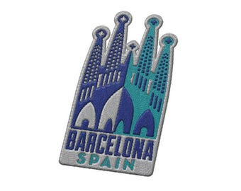Barcelona Spain Travel Patch