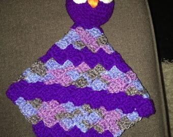 Handmade Crochet Owl Lovey