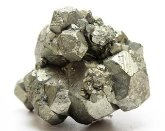 1 Large PYRITE Nugget Stone Cube Chunk Crystal Healing Fools Gold Raw Pyrite Nugget Jewelry & Crafts