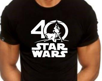 Star Wars 40th Anniversary Tshirt