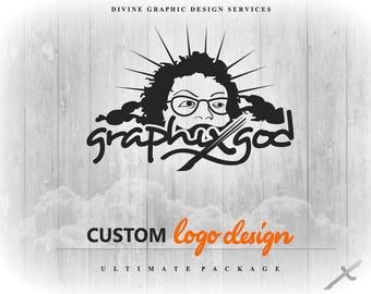 Divine Logo Package - new business logo, online business logo, logo services, logo services online, online logo services, brand design