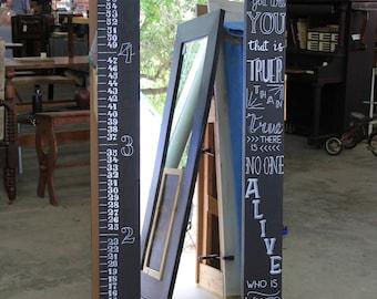 MeasureMe Children's Chalkboard Mirror