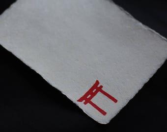 Handmade Japanese paper (Torii)