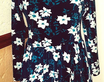 Vintage Velour Dress