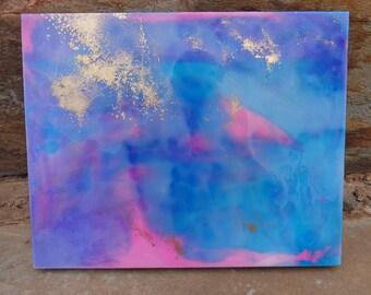 Resin Art on Artists Board