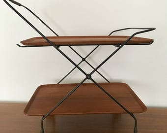 tea trolley. Jie Gantofta | String | Mid century modern | teak | 1950s | side table | Swedish |