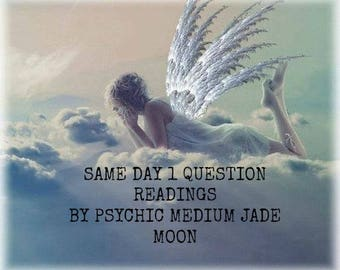 Same Day 1 Question Psychic Reading By An Experienced Reliable Psychic