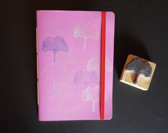 Stamped A5 soft cover notebook