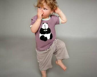 Purple Panda - Kids Pyjamas