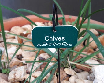 Custom Engraved Herb Labels, Garden Markers, UV Resistant Herb Markers,  Plant Labels