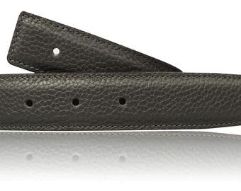 Grey reversible leather belt men and women in 1.22 inches belt in gray/Dove for men and women in 3.1 cm