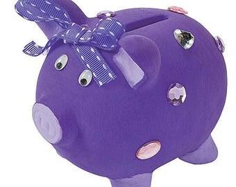 Ceramic Blank Piggy Banks for Decorating