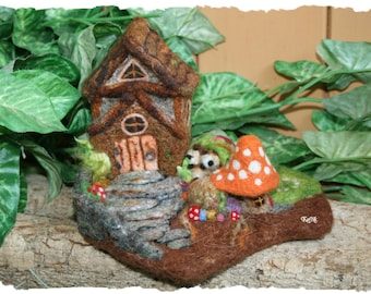 Woodland Gnome Home