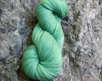 Tornado Warning- Cashmere Blend- Fingering- Hand Dyed Yarn