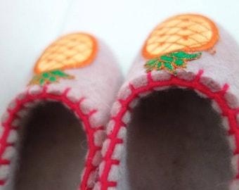 Authentic Organic Felt Slippers for Kids