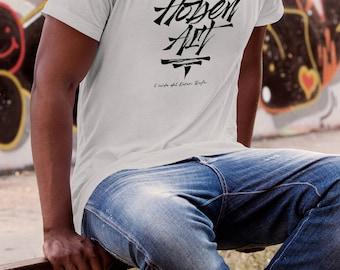 T-shirt men-HobenArt-hand screen printed Logo
