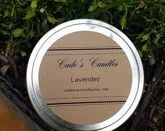 LAVENDER - Scented Candle