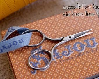 "Sajou Embroidery Scissors ""Charmes Model"" 006 |Needlecraft Scissors|Chenille Scissors|Knitting Shears|Darning Scissors|Sajou Shears"