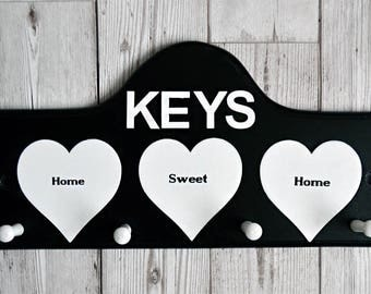 Key Pegs - Key Hooks - Home Decor