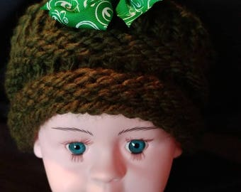 Green Childs hat
