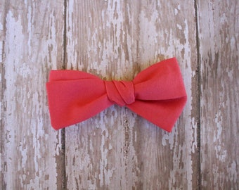 Red Hand-Tied Bow