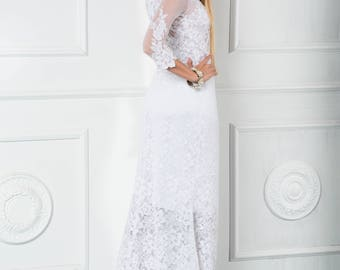 Hand-made wedding dress! 15% discount (old price 470USD)