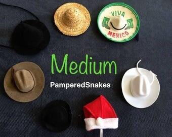 Medium Snake Hats