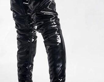Crotch High Boots