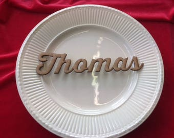25 Place Name Setting 2mm MDF