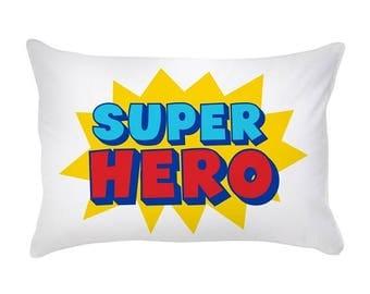 Pillow Case Cotton Standard Size Super Hero