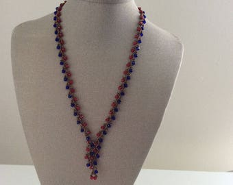 Handmade Salkim Necklace with a matching bracelet