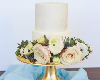 Blue wedding decor | Gauze Table Runner | blue table runner | gauze runners | cheesecloth table runner  | rustic table runner | wedding