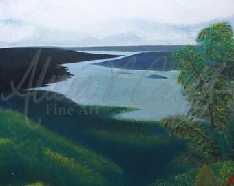 Giclée Print - Lake Nicaragua