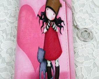 Cute girl wallets /Kitty girl