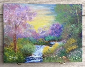 Spring Colours - Oil painting on canvas