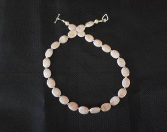 Rhodocrosite  necklace