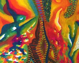 "Art ""tropical rain forest"""