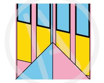 Balustrade Architectural Detail Print