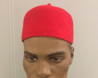 IgboTraditional Red Cap