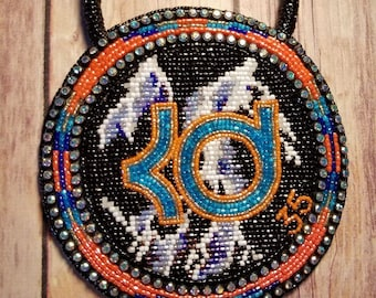 Kevin Durant inspired Native American Medallion