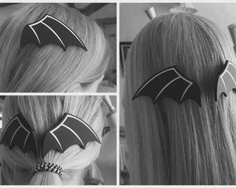 Bat Wing Hair Clips