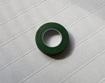 Floral Tape - 1 Roll, Green, Floratape Brand Stem Wrap