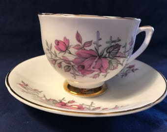Consort Tea Cup and Saucer